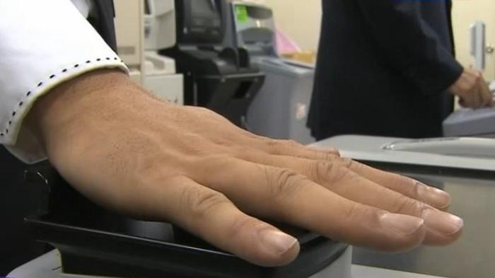 Банкоматы с выдачей наличных по биометрическим данным