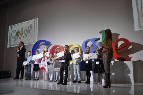 Google выбрал лучший детский дудл